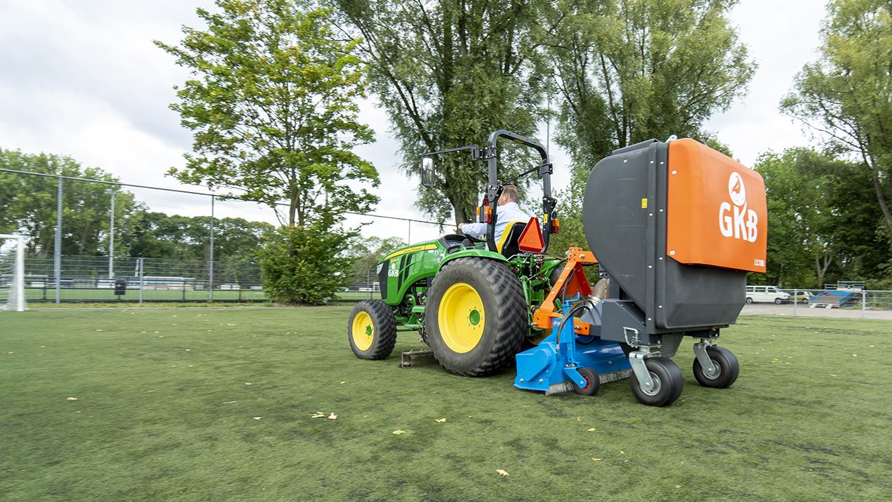 Image of Leaf-Clean: bespaar op het onderhoud van uw kunstgras sportveld